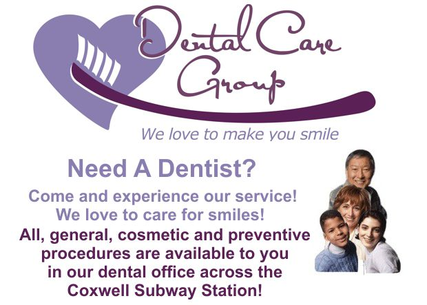 Dental Care Group Display Ad