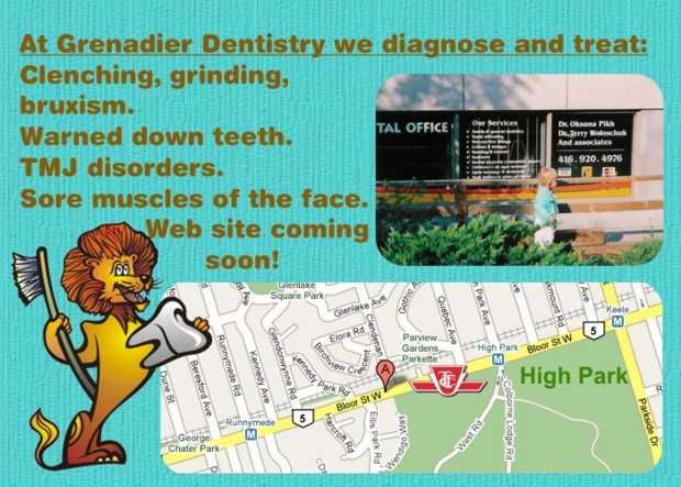 Grenadier Dentistry Display Ad